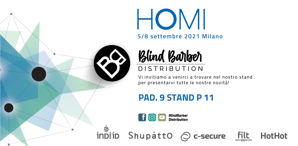 Blindbarber at Homi 2021